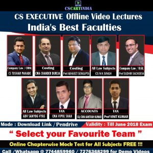 CS Executive Video Lectures