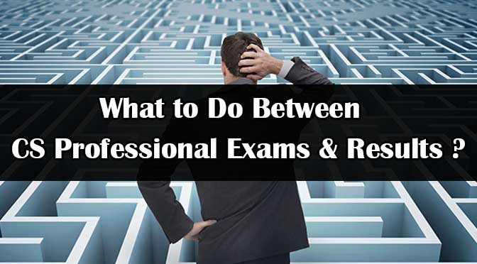 What to do After CS Professional Exam