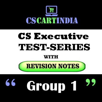 CS Executive Test Series Group 1