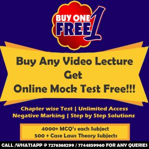 CS Executive Tax Laws & Practice Video Lectures by MANSI JAIN