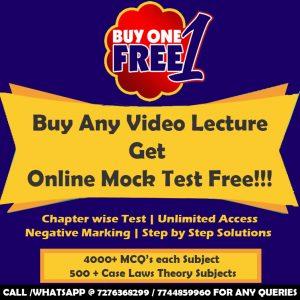 CS Executive ILGL Video Lectures by Sanyog Vyas