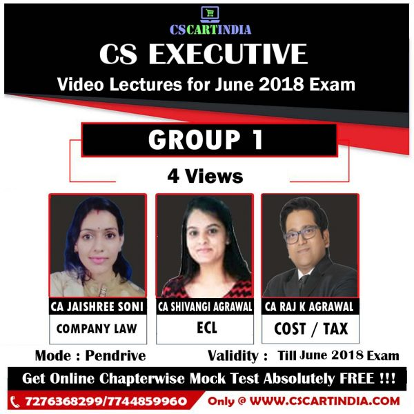 CS Executive Video Lectures Group 1 COMBO
