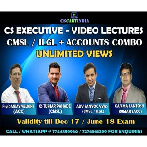 cmsl ilgl accounts video lectures