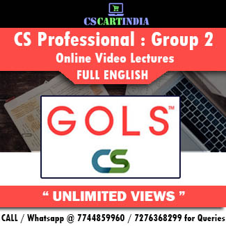 CS Professional Full English Group 2 Online Lectures
