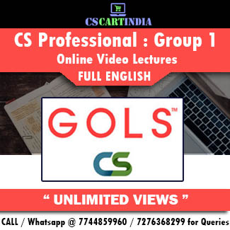 CS Professional Full English Group 1 Online Lectures