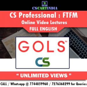 CS Professional Full English FTFM Online Lectures