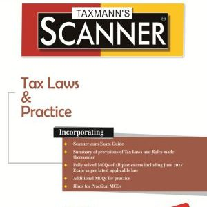 CS Executive Taxmann Scanner - Tax Laws & Practice