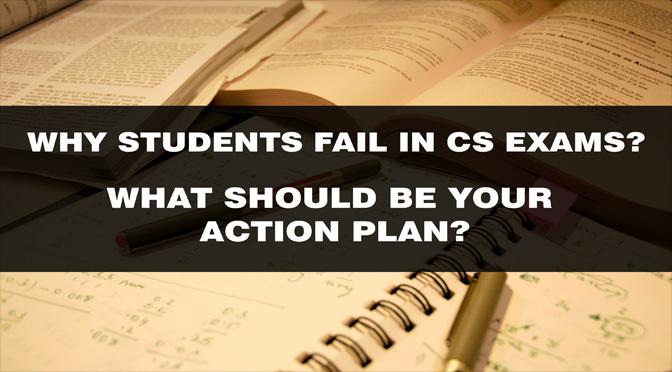 WHY STUDENTS FAIL IN CS EXAMS