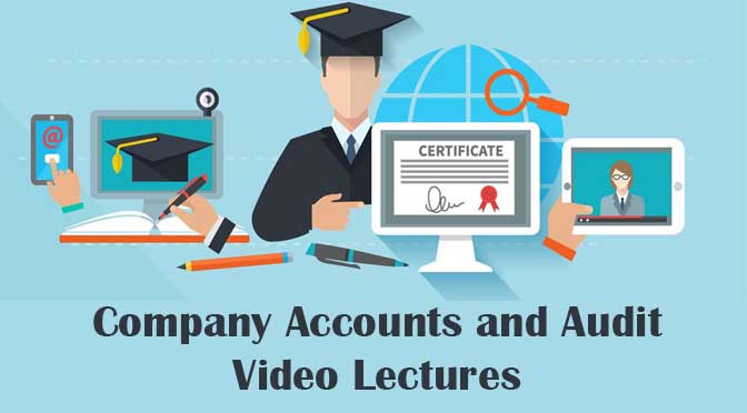 CS Executive Company Accounts Video Lecture