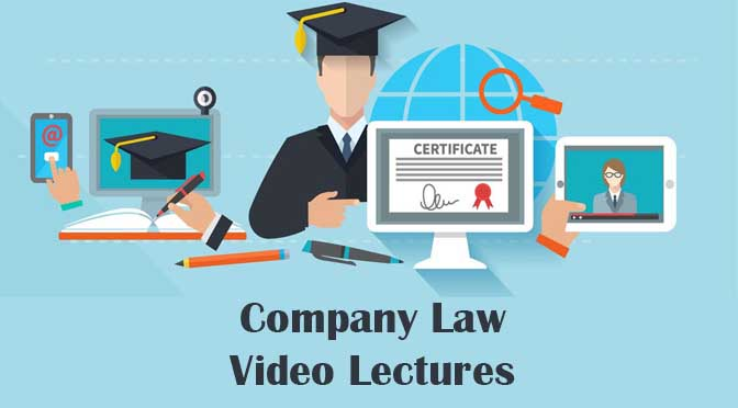 CS Executive Company Law Video Lectures