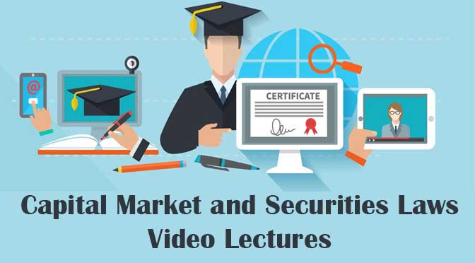 CS Executive Capital Market Securities Law Video lectures