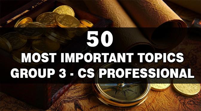 CS Professional Important Topics Group 3