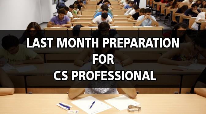 CS Professional Preparation Tips