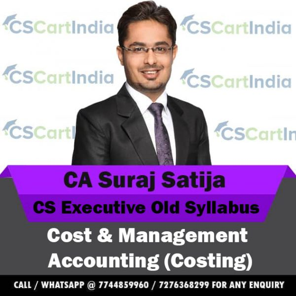 CS Executive Cost Video Lectures