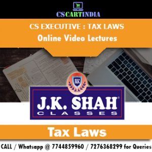 CS Executive Tax Laws