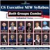 NEW Syllabus CS Executive Video Lectures Both Groups