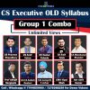 CS Executive Video Classes Group 1