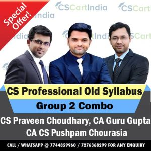 CS Professional Group 2 Video Lectures Combo