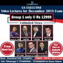 CS Executive Video Classes Group 1