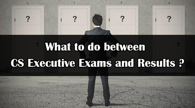 What to do After CS Executive Exam