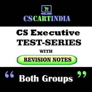 CS Executive Test Series Both Groups