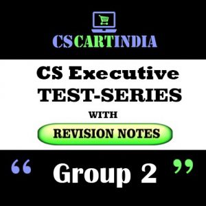 CS Executive Test Series Group 2