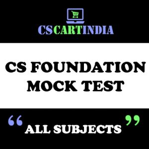 CS FOUNDATION MOCK TEST