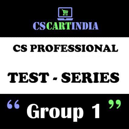 CS Professional Test Series Group 1