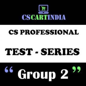 CS Professional Test Series Group 2