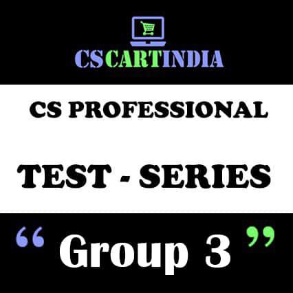 CS Professional Test Series Group 3