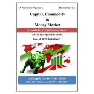 CS Professional Capital Commodity Market Case Study Book (Elective Subject - CCMM)