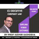 Sudhir Sachdeva Company Law Video Lectures (CS Executive)