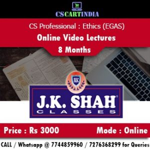 CS Professional Ethics Governance and Sustainability Online Video Lectures