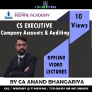 CS Executive Company Accounts & Auditing Video Lectures By CA Anand Bhangariya