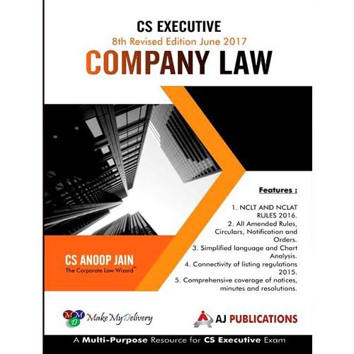 Company Law by CS Anoop Jain