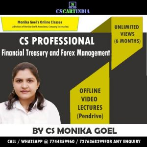 Financial Treasury and Forex Management Video Lectures