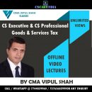 GST Video Lectures by CMA Vipul Shah