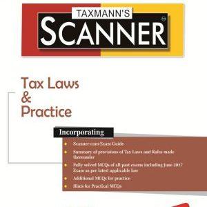 CS Executive Taxmann Scanner - Tax Laws & Practice
