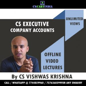 Full English Company Accounts Video Lectures