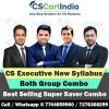 NEW Syllabus CS Executive Video Lectures Both Groups