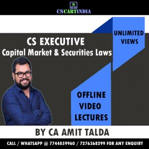 CA Amit Talda CS Executive CMSL Video Lectures