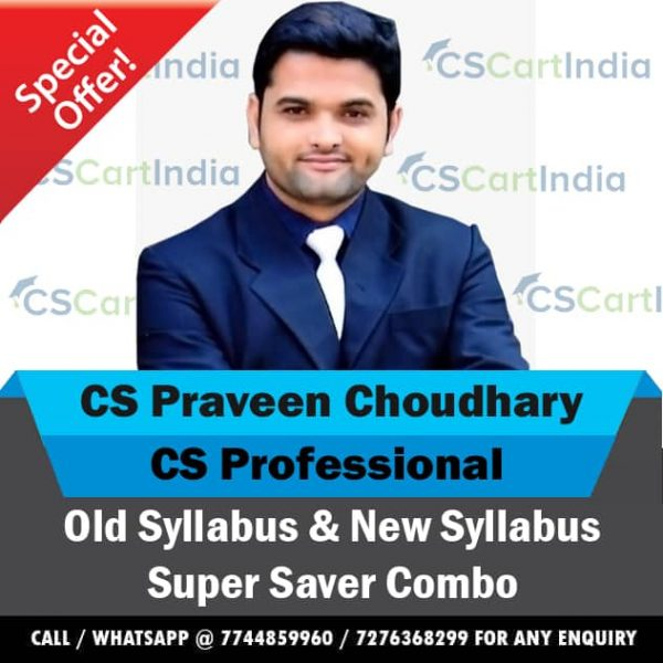 CS Praveen Choudhary CS Professional All Law Subjects