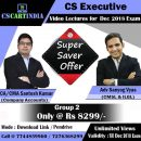 CS Executive Group 2 Video Classes Combo