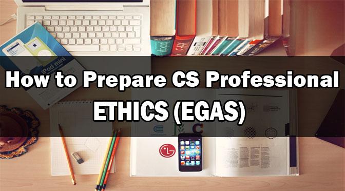 Prepare CS Professional Ethics