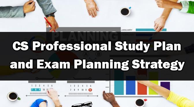 CS Professional Study Plan