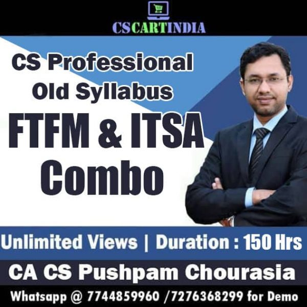 CS Professional FTFM and ITSA Video Lectures Combo