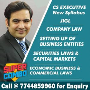 CS Executive New Syllabus All Law Subjects Video Lectures
