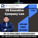 CS Praveen Choudhary CS Executive Company Law Video Lectures
