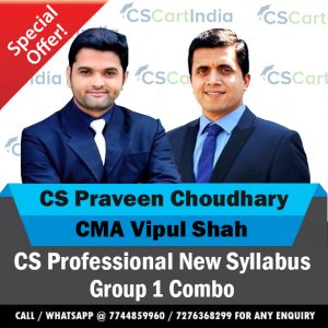 New Syllabus CS Professional Group 1 Video Lectures