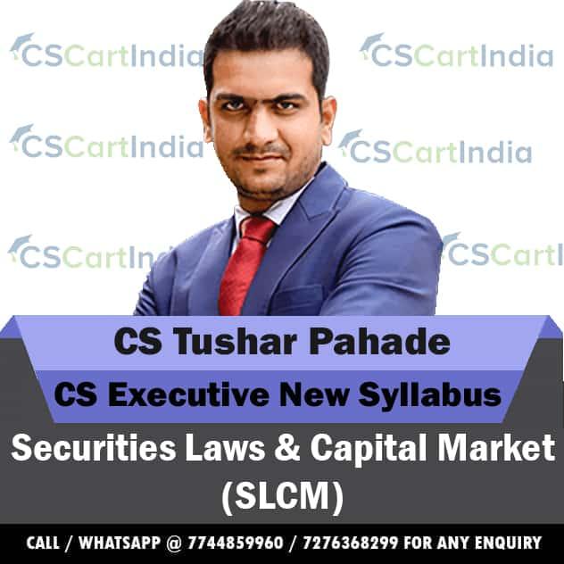 CS Tushar Pahade CS Executive SLCM Video Lectures